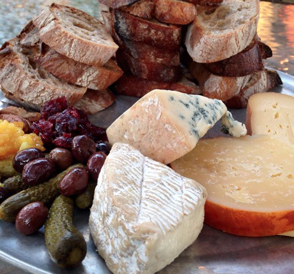 long island winery cheese board