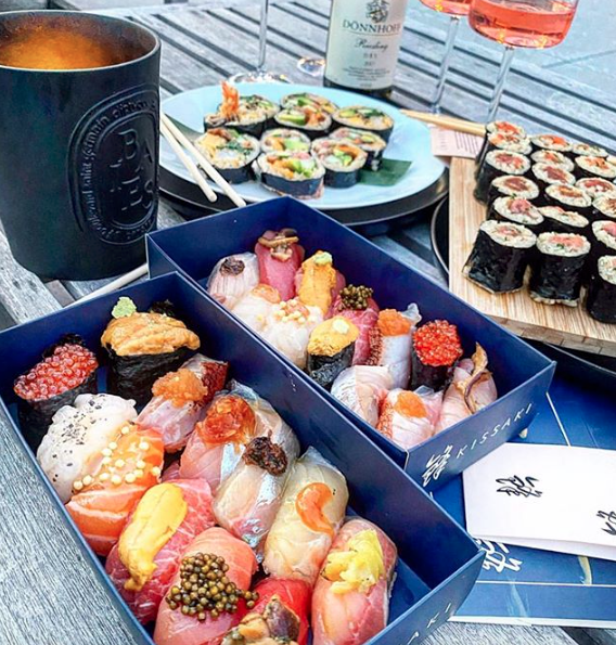 kissaki hamptons sushi takeout