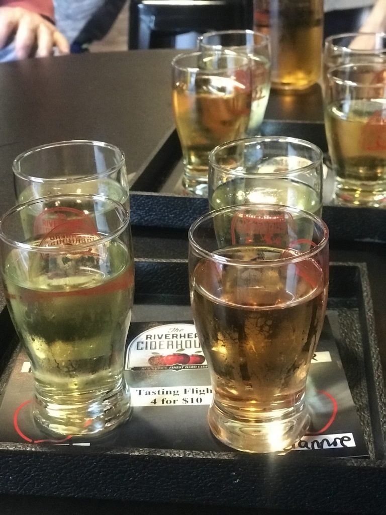 Rivherhead Ciderhouse flight