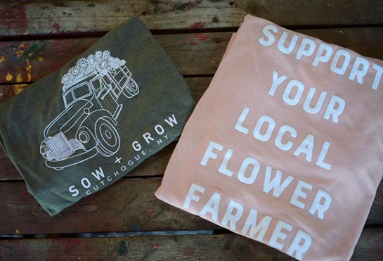 sow + grow flower truck